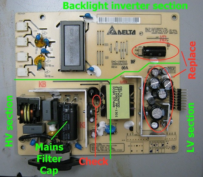 Switching Power Supply Diagram Power Supply Repair