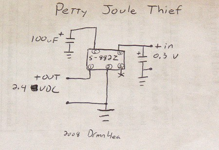 Petty Joule Thief Outguessing The Machine