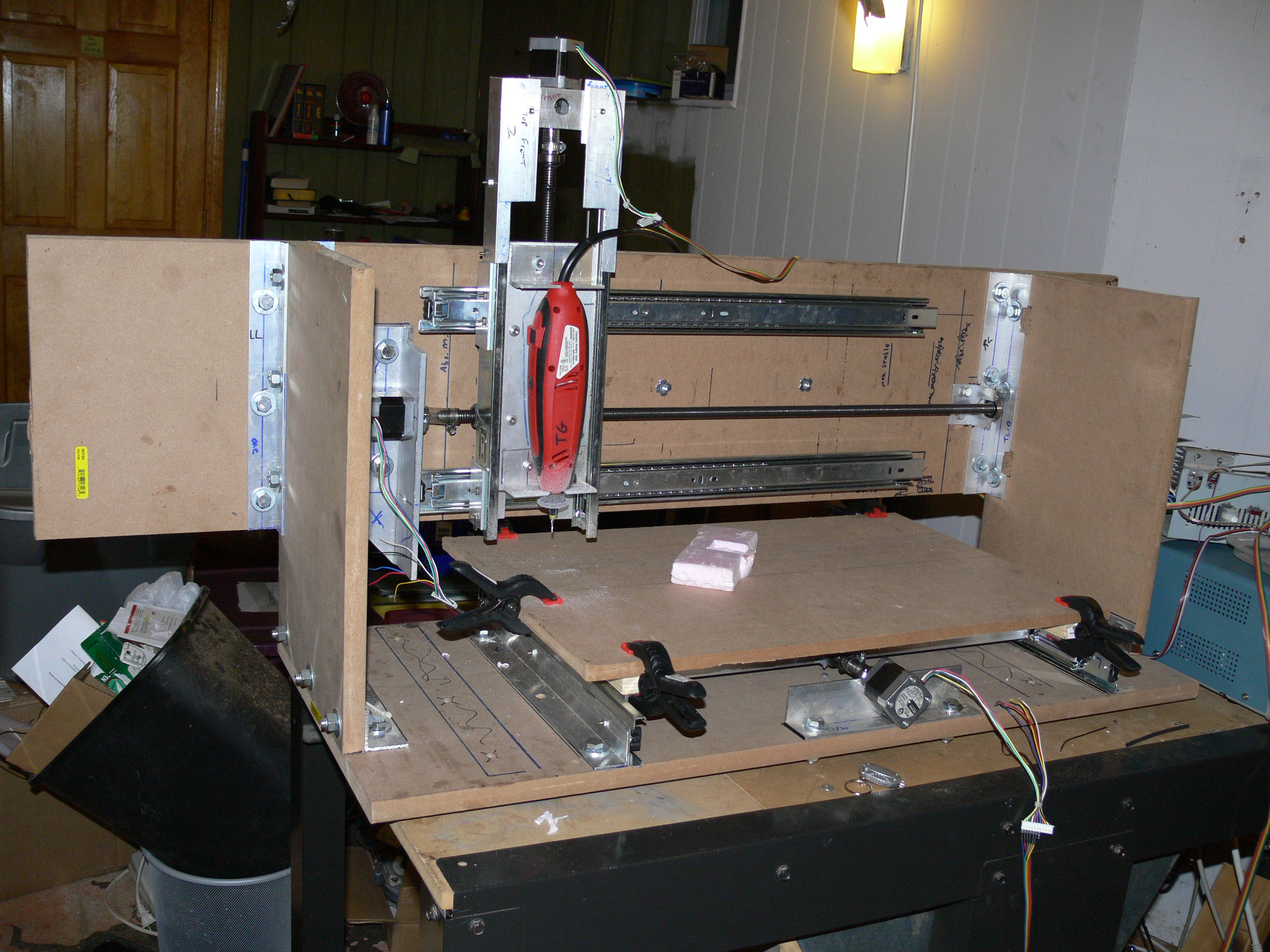 Steppin' Razor: Yet Another Cheap DIY, Homebrew CNC ...