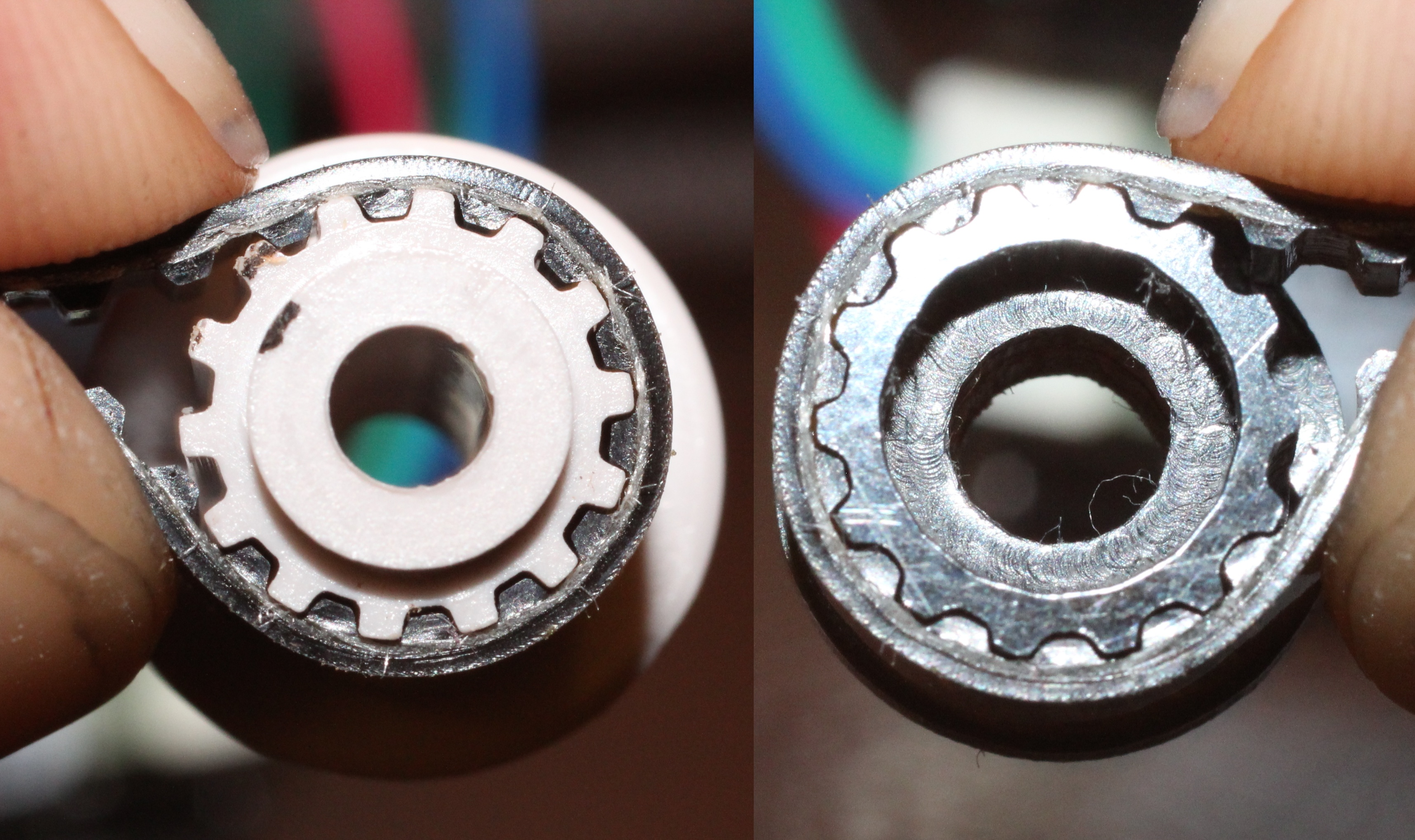 Mesh Comparison Outguessing The Machine Timing Belt Gear Cnc Milling Custom 40dp Gears Pulleys