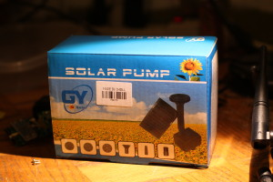 GY Solar water pump package