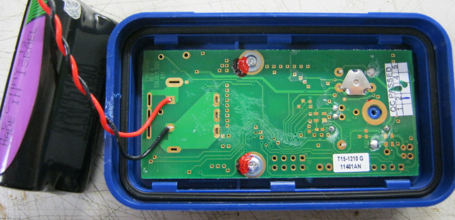 timtearsitapart outguessing the machine bottom side of pcb exposed