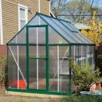 Palram Mythos 6x8 Greenhouse. Pretty nice overall, but could use a bit of shoring-up for longevity.