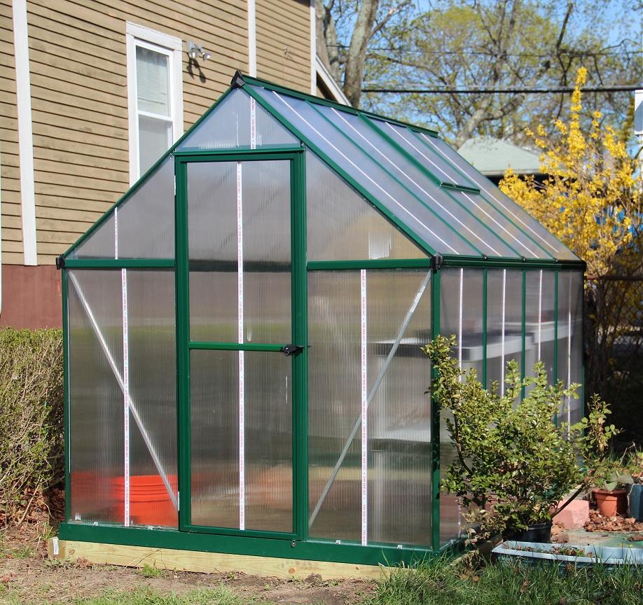 Palram Mythos Greenhouse Hacks / Improvements « Outguessing